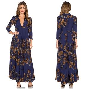 Free People After the Storm Maxi Dress size 2